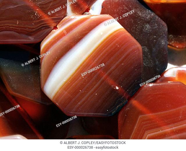 Carnelian agate