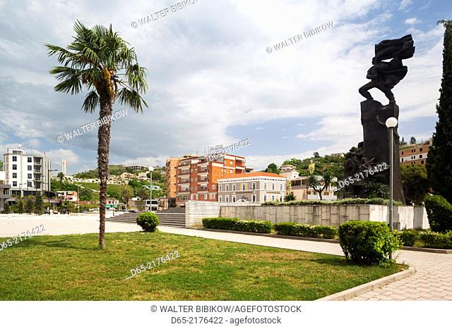 Albania, Vlora, Independence Monument