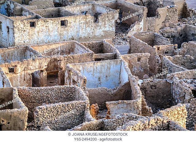 Umm el Howeitat, ghost town, Safaga, Egypt, Africa