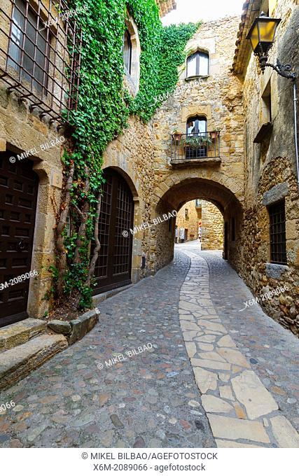 Pals. Costa Brava, Gerona. Catalonia, Spain, Europe