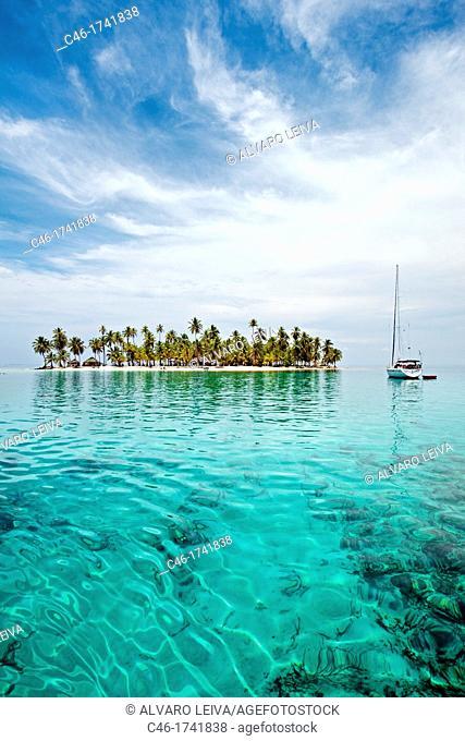 Grullos keys, San Blas Islands also called Kuna Yala Islands, Panama
