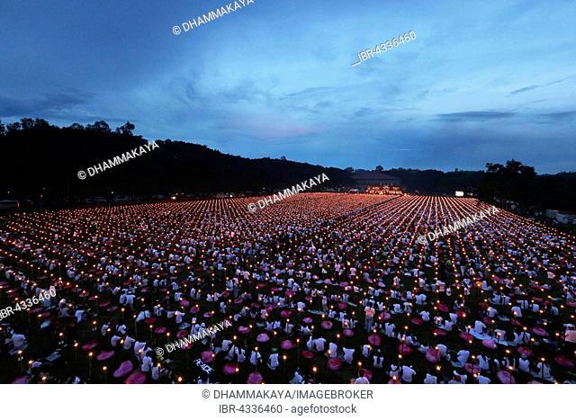 Light of Peace Festival of the Dhammakaya Foundation, University of Philippines Visayas in Miagao, Iloilo Province, Panay Island, Philippines
