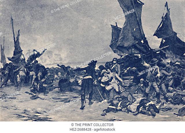 'The Battle of Quiberon', 1795, (1896). Artist: Unknown
