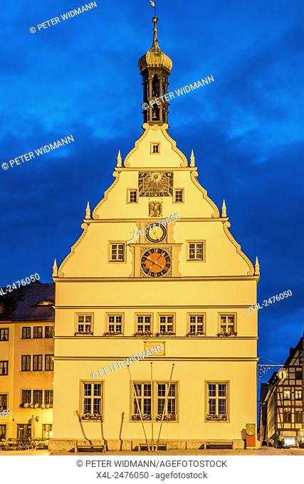 Ratstrinkstube inn, Rothenburg ob der Tauber, Romantic Road, Middle Franconia, Franconia, Bavaria, Germany, Europe
