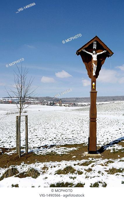 Lauchheim-Röttingen, Ostalbkreis, Baden-Württemberg, Germany, Germany - Lauchheim-Röttingen, Baden-Württemberg / Ostalbkreis, Germany / Germany, 24/03/2008