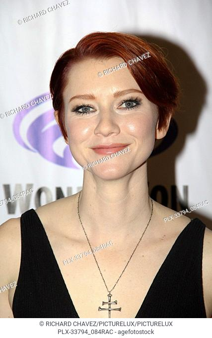 "Valorie Curry promotes """"The Tick"""" at WonderCon 2019 on Day 2 held at The Anaheim Convention Center in Anaheim, CA on March 30, 2019"