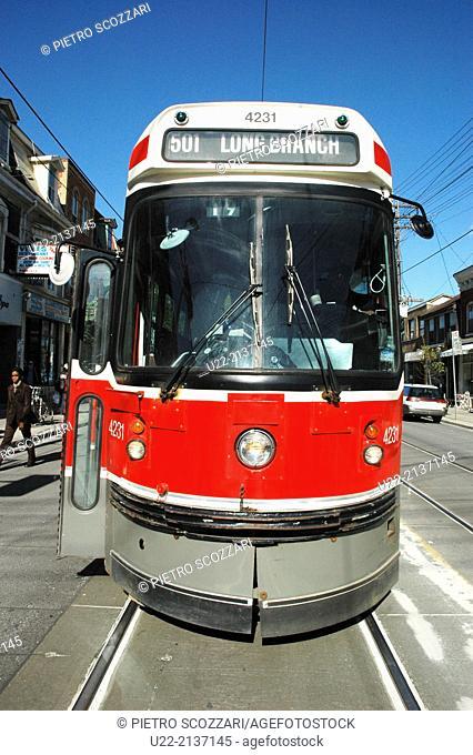 Toronto Canada: streetcar