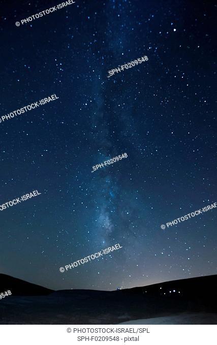 Long exposure of the Milky Way