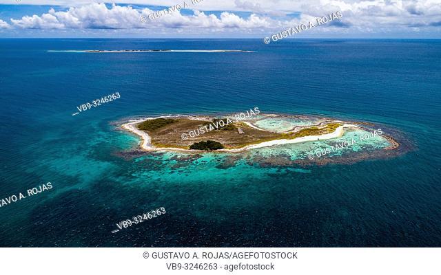 Aerial View, Archipelago Caribbean Los Roques,