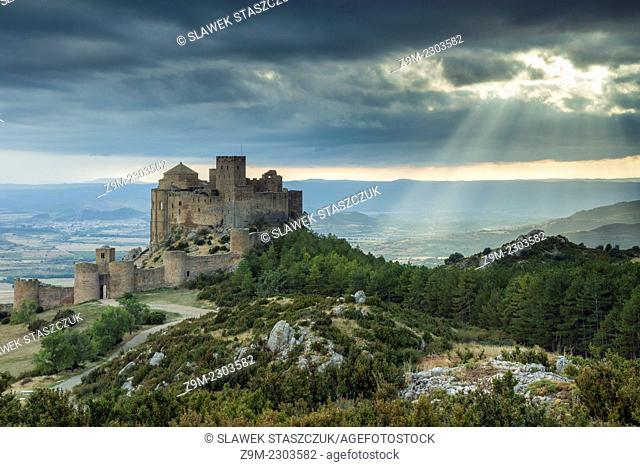 Loarre Castle, Huesca, Aragon, Spain