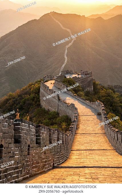 Great Wall of China at Huanghua Cheng or Yellow Flower, Xishulyu, Jiuduhe Zhen, Huairou, China