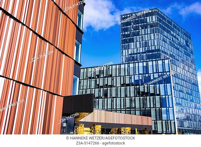 Modern office building in Reykjavic, Iceland