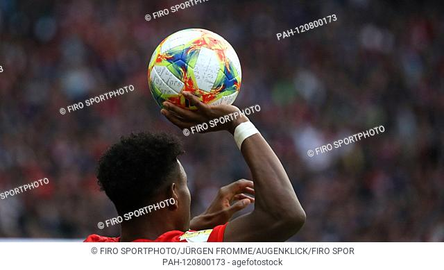 firo: 25.05.2019, Football, Season 2018/2019 DFB-Pokal, Final, Final, RB Leipzig, Red Bull - FC Bayern Munich 0: 3 LICENSE, PLAYBALL, GENERAL, BACKGROUND