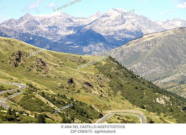 Boi Taull landscape Lleida Catalonia Spain