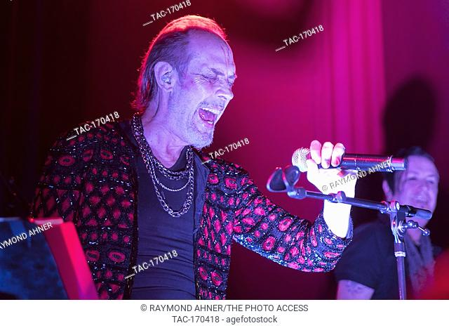 Peter Murphy performs on March 26, 2019 at The Chapel in San Francisco, California
