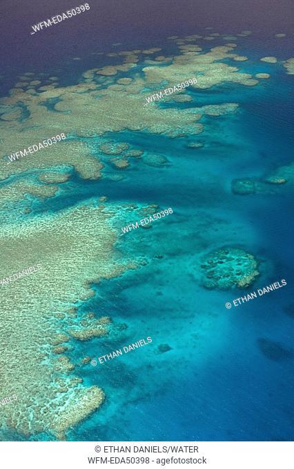 Barrier Reef of Veti Levu Island, Fiji