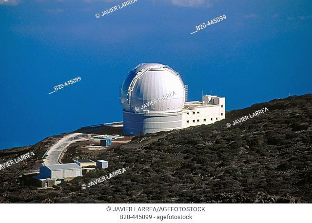 Astronomical observatory in 'El Roque de los Muchachos'. La Palma. Canary Islands, Spain