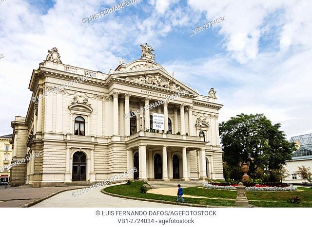 Narodni Divadlo, National Opera Theater. Brno, Czech Republic