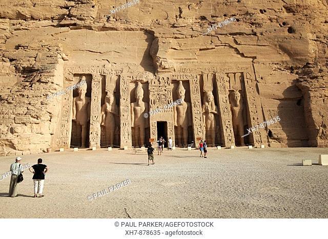 Temple of Hathor, Abu Simbel, Egypt