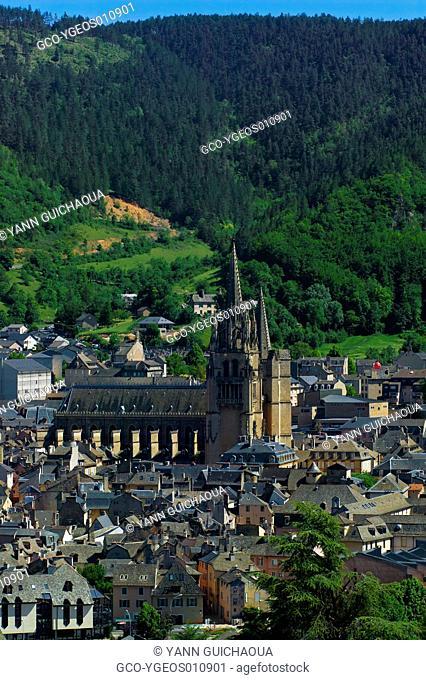 Mende, Lozere, Languedoc Roussillon, France
