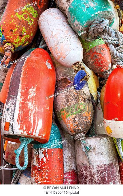 Oregon, Florence, Old buoys