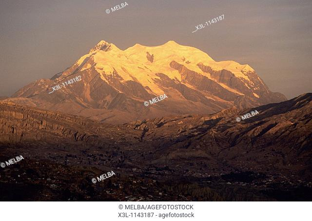 Monte Illimani  La Paz  Bolivia