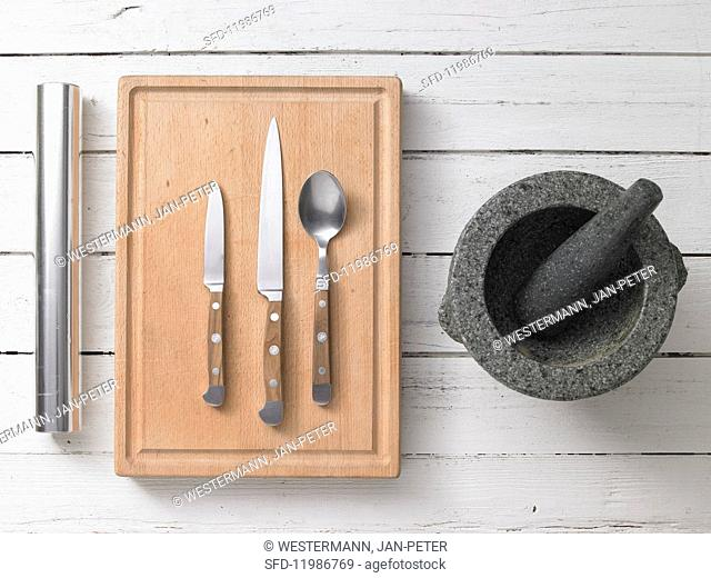 Utensils for tofu dishes