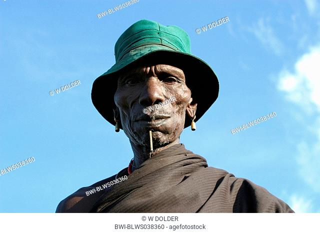Toposa chieftain, Sudan