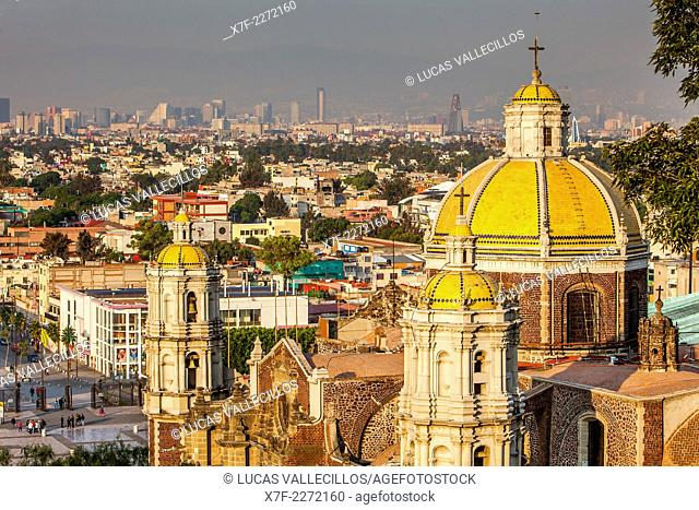 Old Basilica Our Lady of Guadalupe, Mexico City, Mexico