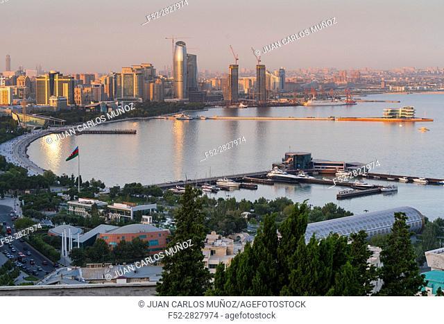 Baku City, Azerbaijan, Middle East