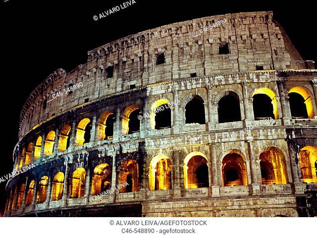 Colosseum, Rome. Lazio, Italy