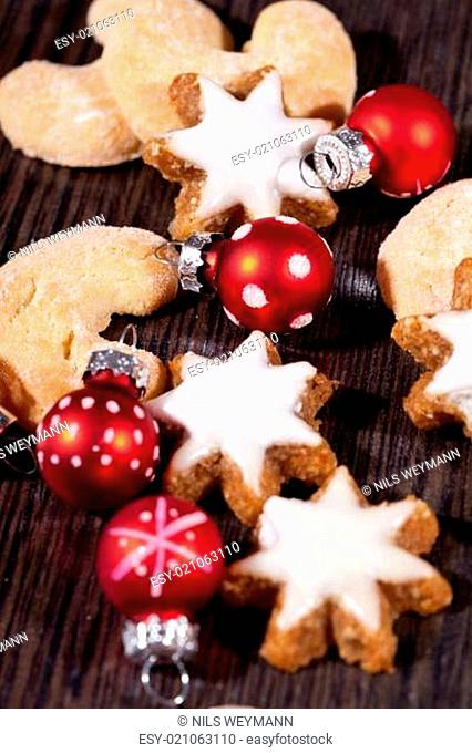 Weihnachtsgebäck Zimtsterne.Card Christmas Cookie Stock Photos And Images Age Fotostock