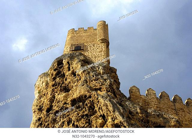 Castle, Frias. Burgos province, Castilla-Leon, Spain