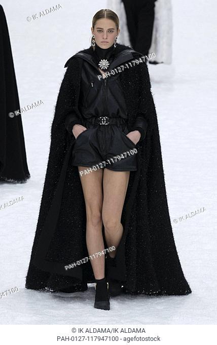 CHANEL runway show during Paris Fashion Week, AW19, Autumn Winter 2019 collection - Paris, France 05/03/2019   usage worldwide. - Paris/France
