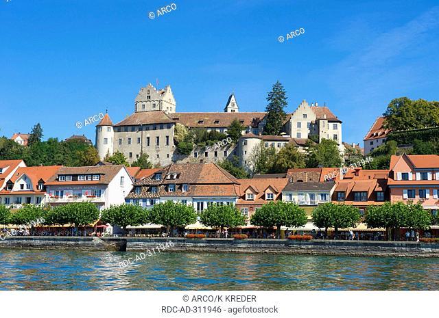 Castle of Meersburg, Lake Constance, Baden-Wuerttemberg, Germany