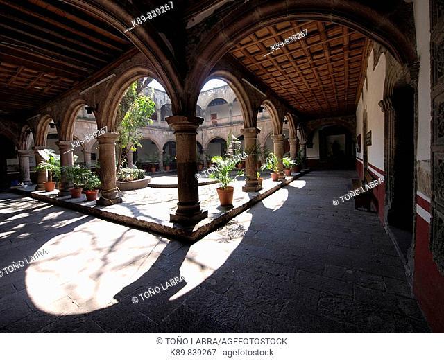 Convento de Santiago y San Felipe. Azcapotzalco. Norte de Ciudad de México. México
