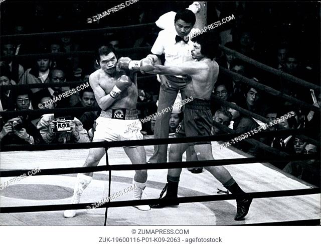 1974 - Sensaku Muan Surin Wins Title Fight In Tokyo : The World Welter Weight Championship fight place in Tokyo on 2nd April between the Champion Sensual of...