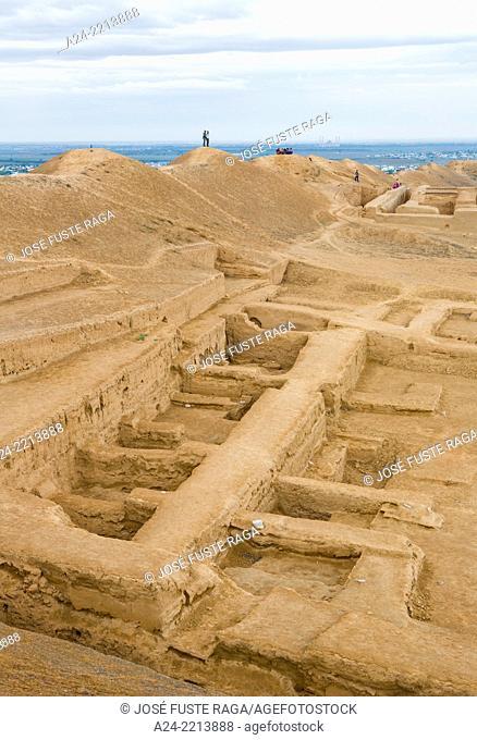 Turkmenistan ,near Ashgabat City, Old Parthian Fortress of Nissa City, (W.H.)
