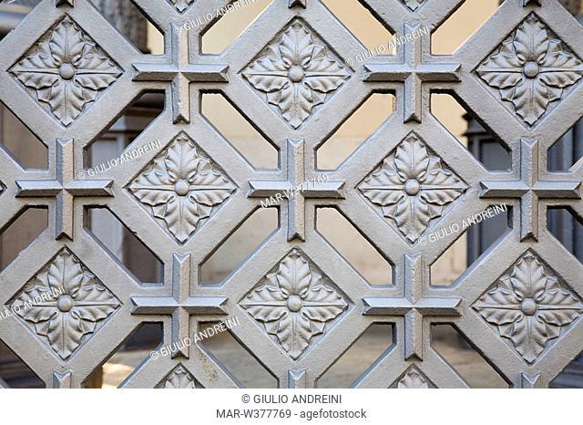 europe, italy, tuscany, follonica, st leopoldo church, detail