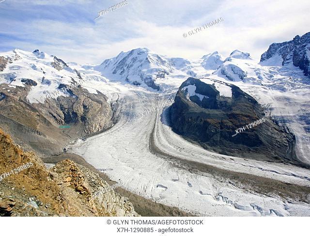 Gornergletscher, Switzerland