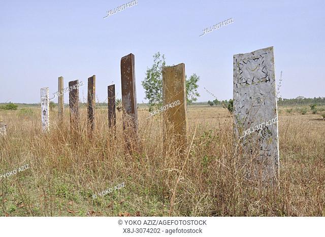India, Orissa, chhattisgarh, Jagdalpur, funeral monument