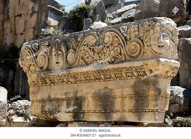 The Greco-Roman Theater of Myra was built into the steeply rising cliff southwest of the site's Acropolis. Built in accordance with the principles of Greek...