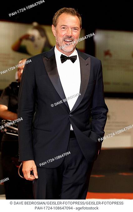 Sebastian Koch attending the 'Werk ohne Autor' premiere at the 75th Venice International Film Festival at the Palazzo del Cinema on mSeptember 04