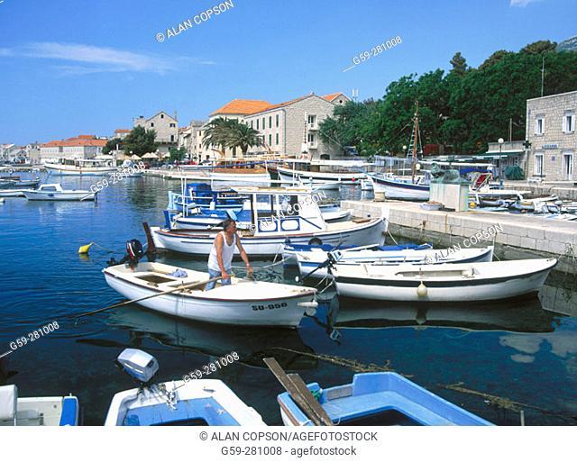 Bol. Brac Island. Croatia