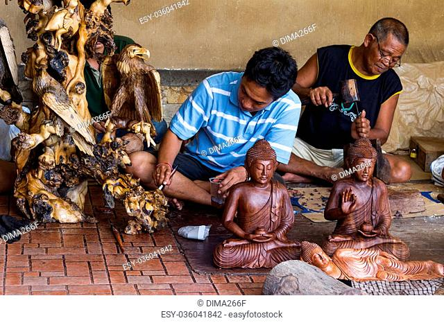 Handicraft At Ubud Stock Photos And Images Age Fotostock