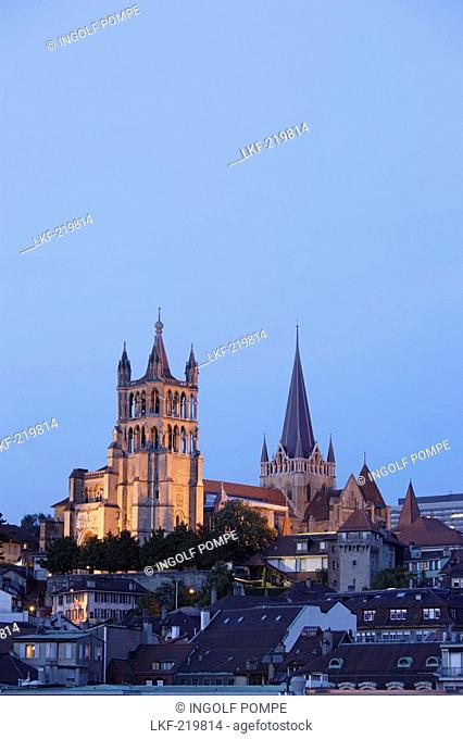 Cathedrale Notre-Dame, Lausanne, Canton of Vaud, Switzerland