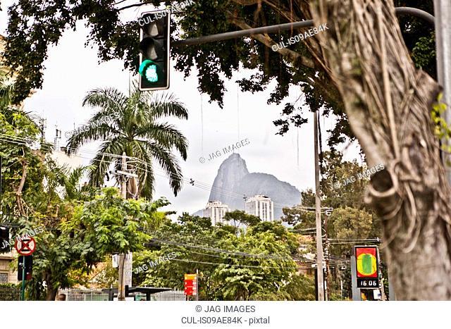 View towards Corcovado, Rio, Brazil