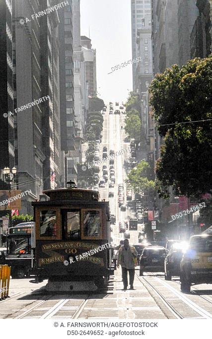 SAN FRANCISCO, CALIFORNIA USA The Financial District
