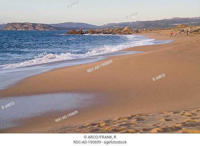 Beach, Vignola Mare, Gallura, Sardinia, Italy, Mediterranean Sea