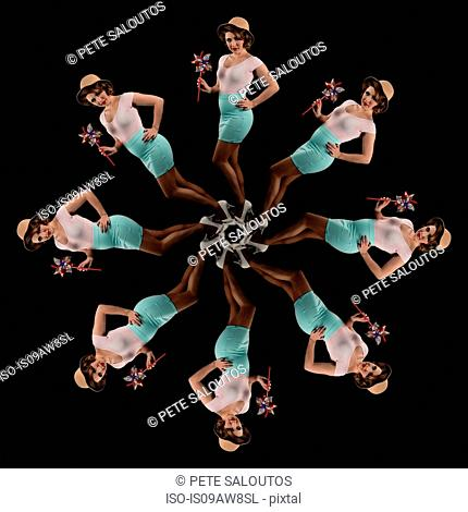 Human kaleidoscope